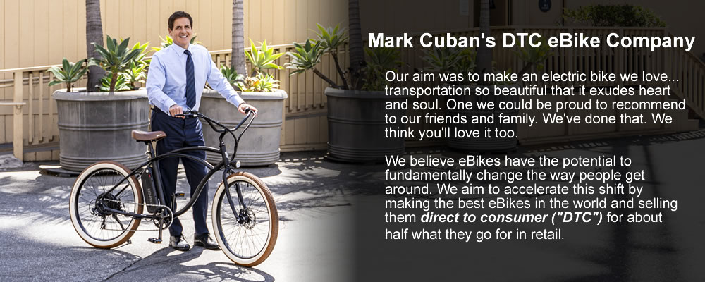 Electric Bike Company Owned by Mark Cuban